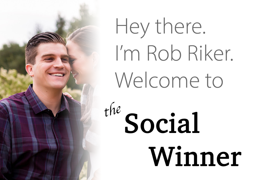 Rob Welcome to the Social Winner
